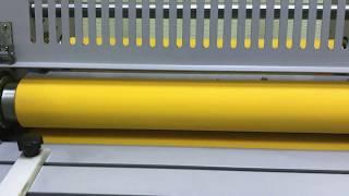 Обзор работы рулонного ламинатора WH3812