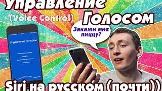 Управление голосом или почти Siri на русском :) (Voice control)