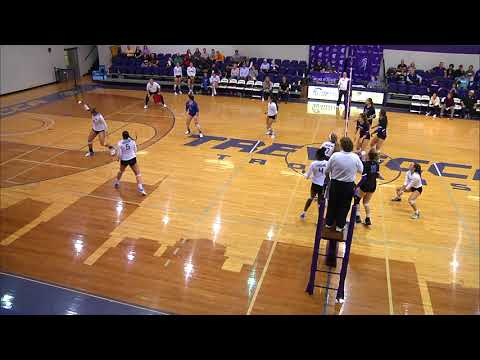 Trevecca Volleyball l Highlights 10202017 vs Ursuline College