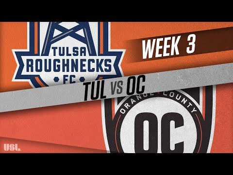 Tulsa Roughnecks FC vs Orange County SC: March 31, 2018