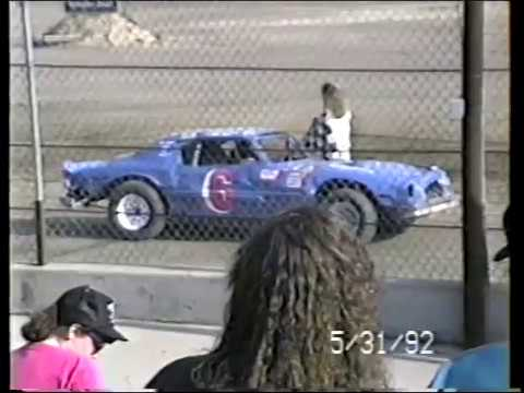 Michigan Track Hunt Stop #3 - Owendale Speedway - May 31, 1992