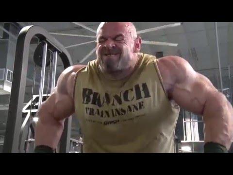 Branch Warren, Johnnie Jackson and Matt Lehr Arm Training