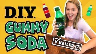 DIY Gummy Soda #NailedIt