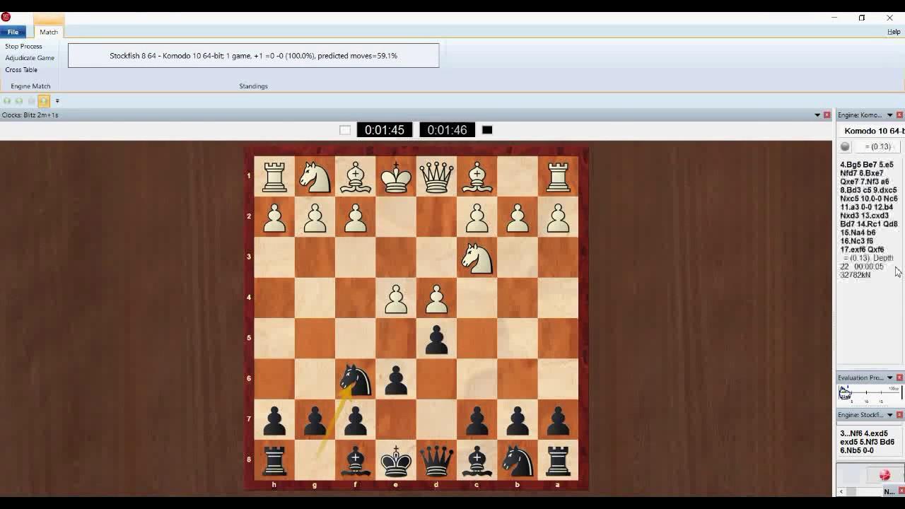 Komodo (Комодо) 9, 10, 11 2 - скачать бесплатно шахматный движок