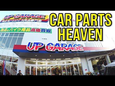 NEW UP GARAGE MEGA STORE IN JAPAN! - JDM Car Parts Heaven!