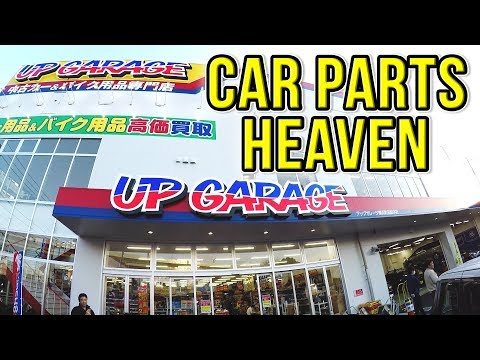 NEW UP GARAGE MEGA STORE IN JAPAN!JDM Car Parts Heaven!