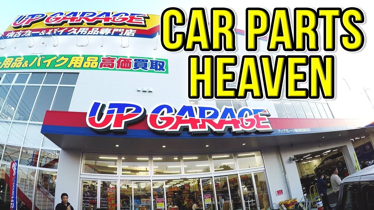 New Up Garage Mega Store In Japan Jdm Car Parts Heaven Youtube