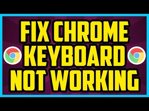 How To Fix Keyboard Not Working Google Chrome 2017 (EASY) - Chrome Keyboard Not Working Windows 10