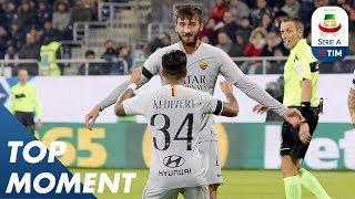 Cristante Opening Goal   Cagliari 2-2 Roma   Top Moment   Serie A