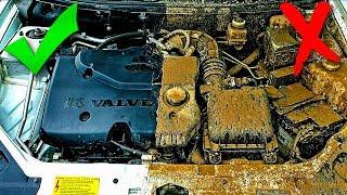 Как ПРАВИЛЬНО мыть двигатель керхером и не навредить
