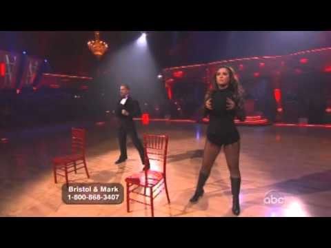 Bristol Palin and Mark Ballas Dancing with the Star finale free style