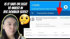 IS IT SAFE TO INVEST IN BITCOIN DOUBLER SITES?   CRYPTO-PANDEMIC REVIEW