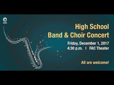 High School Band & Choir Concert - 2017