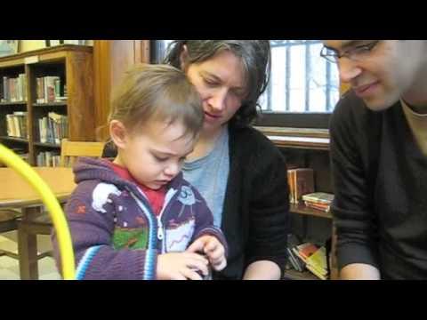 Ross/Rosenberg Family at the Library