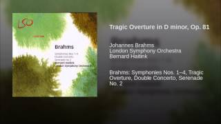 Tragic Overture in D minor, Op. 81