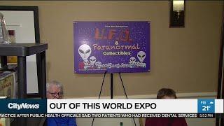 Out of this world alien expo