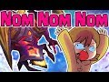 NEW Dark Star Cho'Gath Skin! Nomming Our Way To VICTORY! Yummy! - Ash_on_LoL