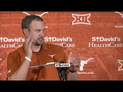 Tom Herman press conference - Oklahoma State week [Oct. 16, 2017]
