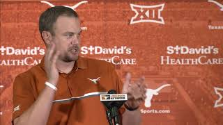 Tom Herman press conference - Oklahoma State week [Oct. 16, 2017] thumbnail