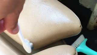 видео Очищаем кожаный салон автомобиля. Энциклопедия автомобилиста Avtomp3.ru