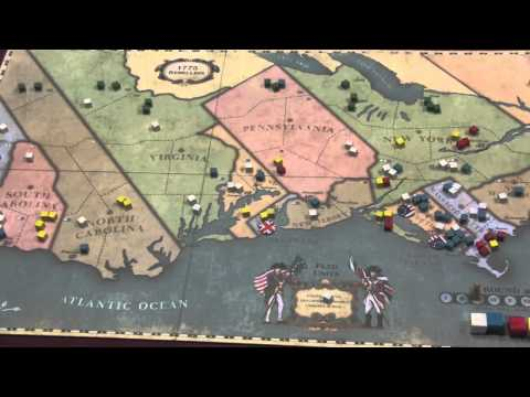 1775: Rebellion Review - with Tom Vasel