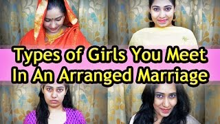 Types of Girls In An Arranged Marriage | RGV Love