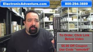 Original Sharp RRMCGA416WJSB TV Remote Control (GA416WJSB) $5.00 Off Deal - ElectronicAdneture