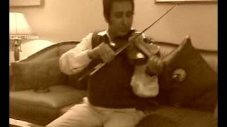 Nijhum Shondha in violin