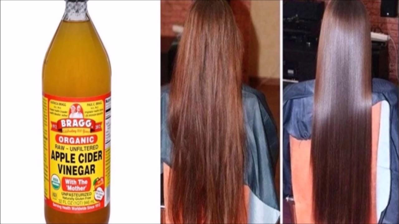 Vinagre de manzana para el cabello resultados