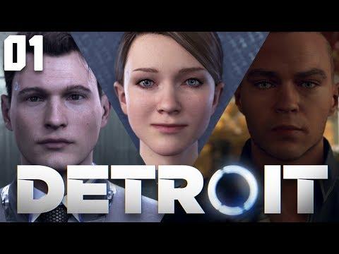 Bienvenue à Detroit #1 Let's Play DETROIT BECOME HUMAN FR (Prise d'Otage / Nuances / Nouveau Foyer)