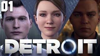Bienvenue à Detroit #1 Let's Play DETROIT BECOME HUMAN FR (Prise d'Otage / Nuances / Nouveau Foyer)
