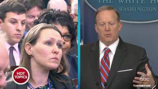 Sean Spicer To April Ryan: 'Stop Shaking Your Head' | The View by : The View