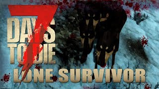 Niedliche Hunde  | Lone Survivor 018 | 7 Days to Die Alpha 17 Gameplay German Deutsch thumbnail