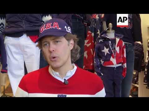131e660c Ralph Lauren Unveils Team USA Olympic Uniform - YouTube