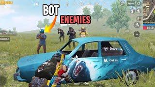 ENEMIES TEAMED UP WITH A BOT   PUBG MOBILE