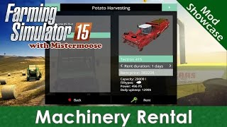 Farming Simulator 2015 - Machinery Rental - Mod Showcase