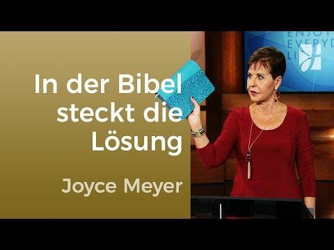 In Der Bibel Steckt Die Lösung – Joyce Meyer – Gedanken Und Worte Lenken