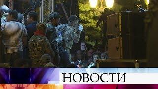 В Ереване до позднего вечера продолжались митинги оппозиции.
