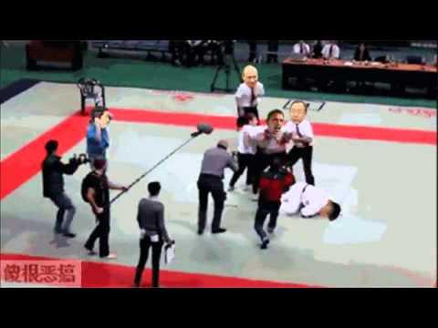 Kim Jong un VS Obama - Break Dancing !!!!