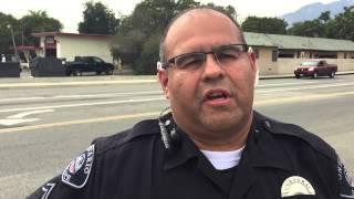 Ontario PD Chase through Rancho Cucamonga Traffic Collision - 070115