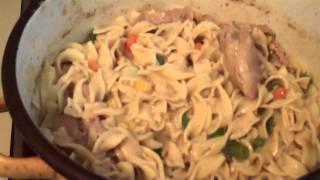 Motd Homemade Chicken + Noodles W/ Vetgetables