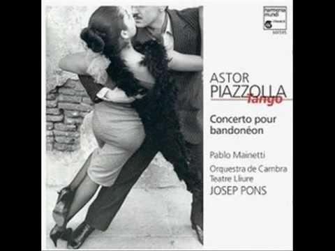 Astor Piazzolla    Concierto para bandoneón y orquesta   II. Moderato mp3
