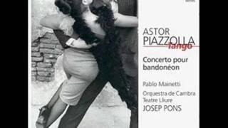 Astor Piazzolla    Concierto para bandoneón y orquesta   II. Moderato