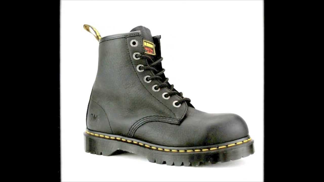 Men's Dr Martens R13398001 Extra Wide Steel Toe Work Boot @ Steel ...