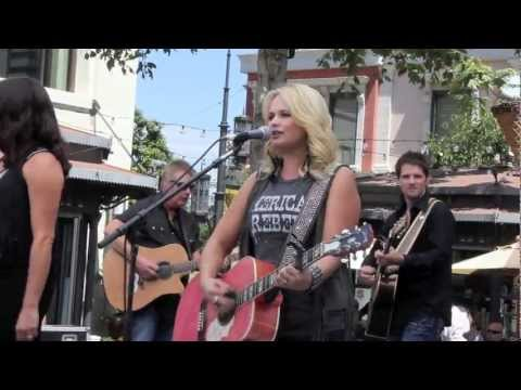 Miranda Lambert and the Pistol Annie's Live Performance at The Grove