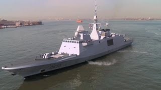 Video DCNS - FREMM Aquitaine Multi-Mission Frigate In New York [1080p] download MP3, 3GP, MP4, WEBM, AVI, FLV November 2017