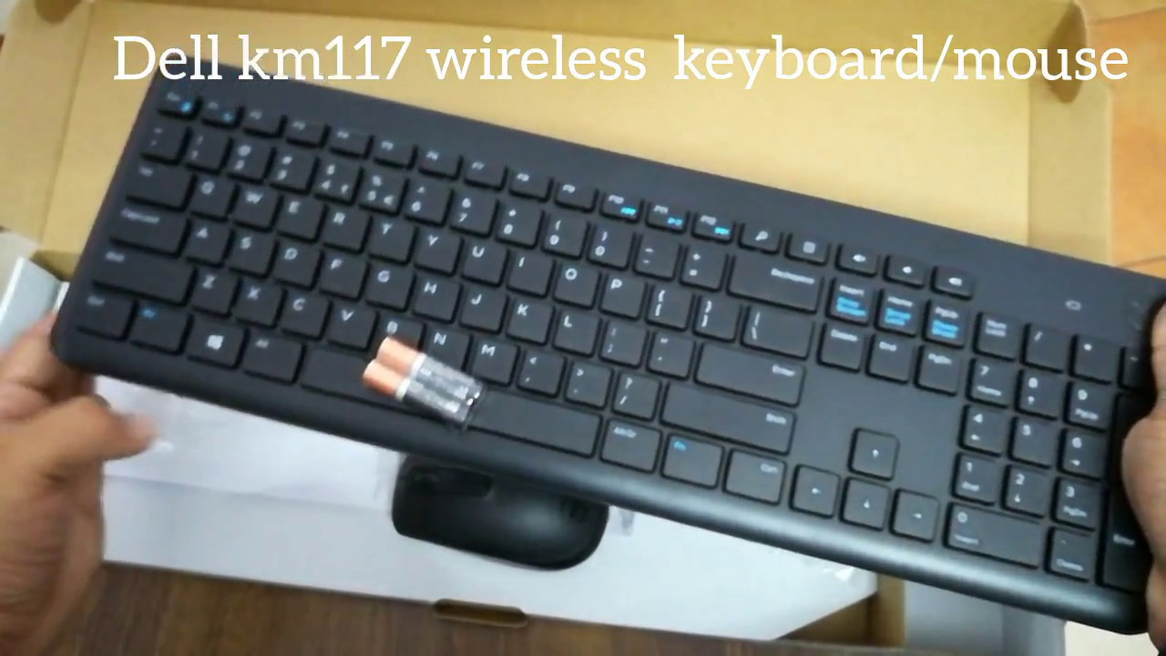 Dell Km117 Wireless Keyboard Mouse Unboxing Youtube