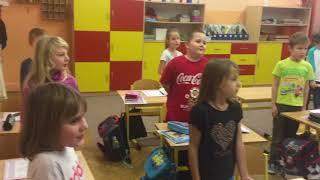 Mikuláš, čert a anděl v naší škole 5  12