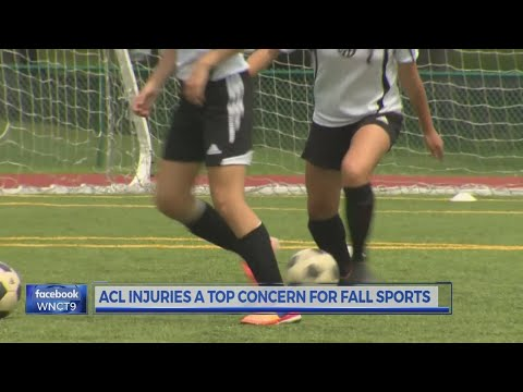 ACL injuries become a concern as fall sports begin
