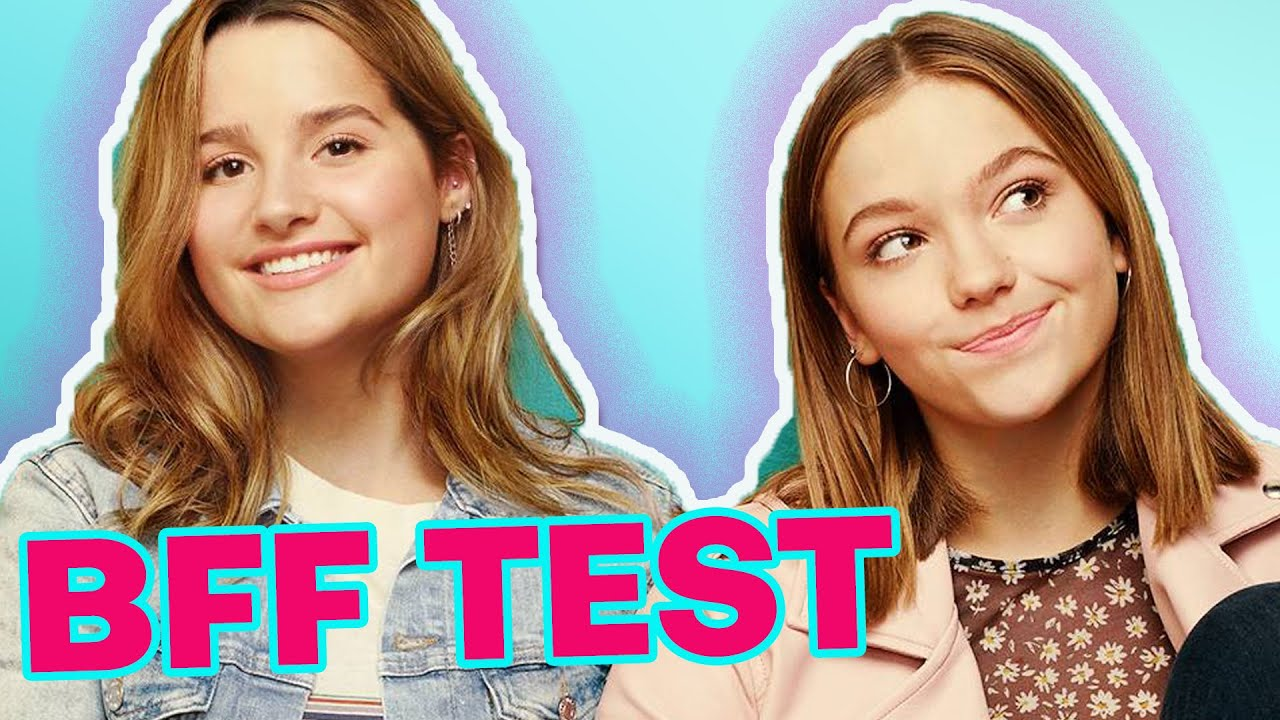 Jules Leblanc and Jayden Bartels Take A Best Friend Test | Hollywire